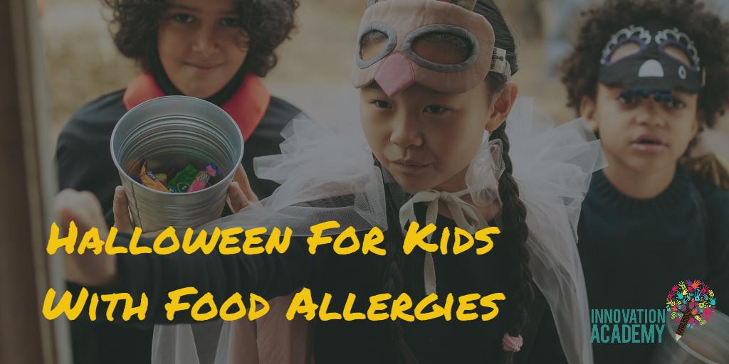 food allergy safe halloween-Innovation Academy Las Vegas middle school